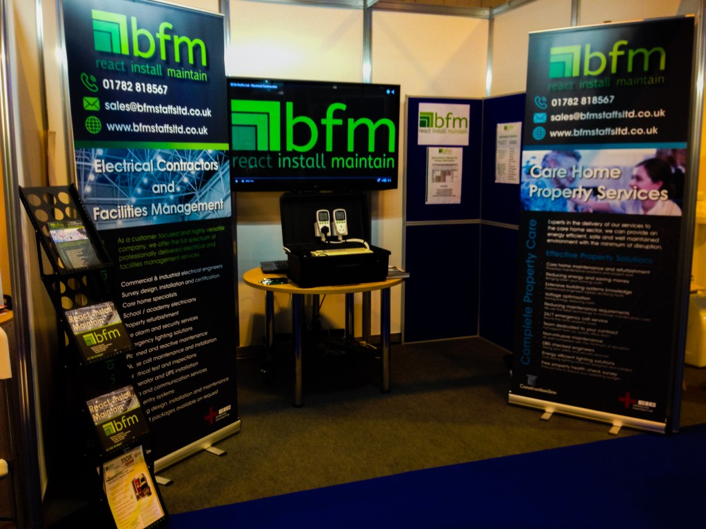 Care show BFM stand Nov 2015