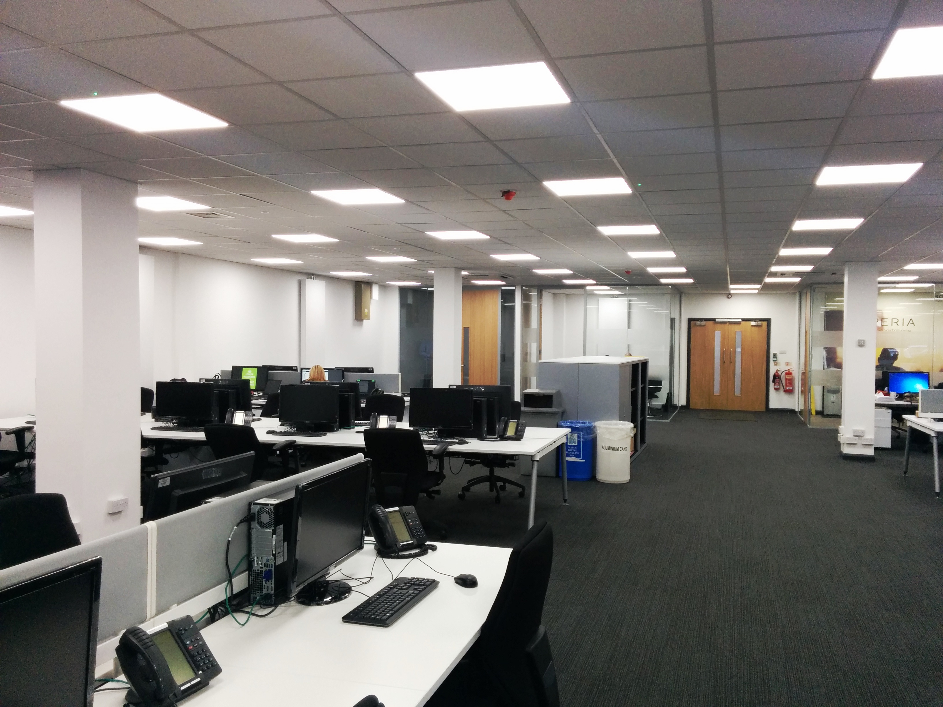 Office refurbishment bfm staffs ltd for Office refurbishment